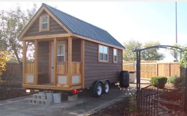 DIY WOODEN TINY HOUSE PLANS