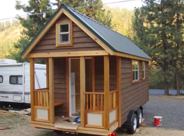 DIY TINY HOUSE STEP BY STEP