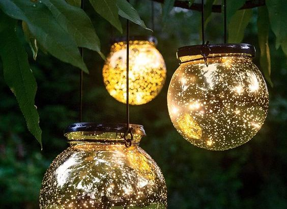 DIY OUTDOOR LIGHTING
