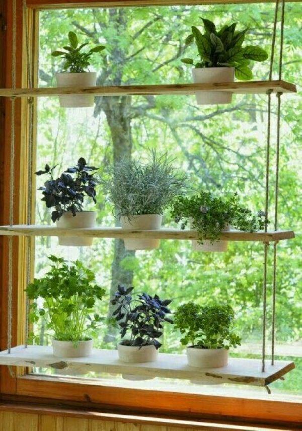 decorating window planter DIY ideas