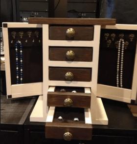 Creative DIY Wooden Jewelry Box