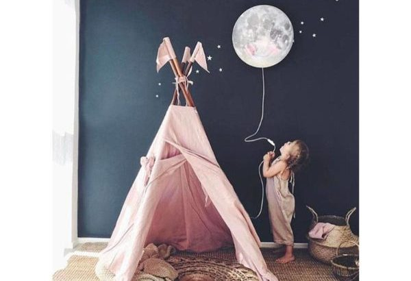 DIY NIGHT MOON LAMP