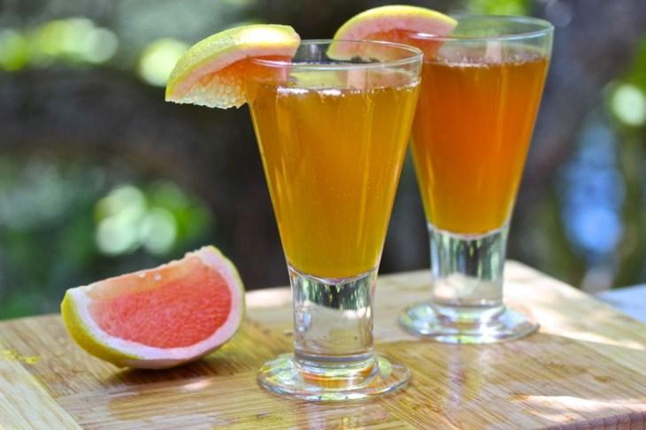Grapefruit And Cinnamon drink