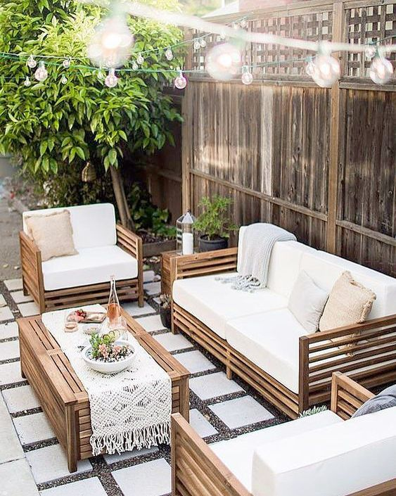 outdoor backyard furniture ideas