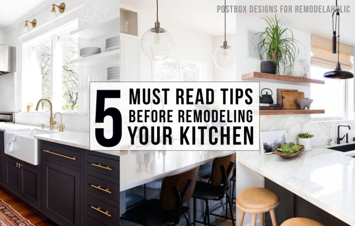 5 things to consider before kitchen renovation