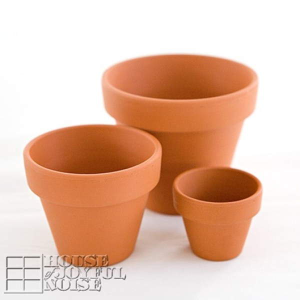 DIY CLAY POTS PROJECT