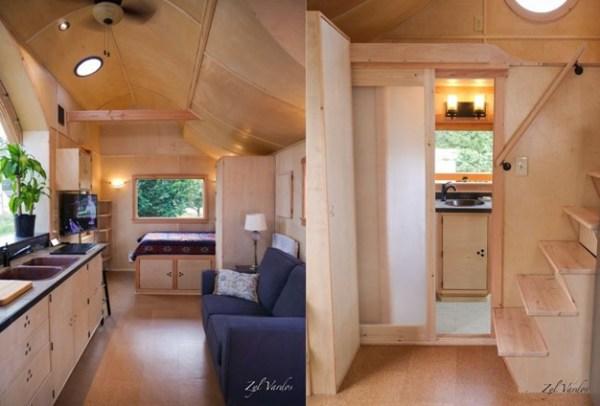 TINY HOUSE ON WHEEL INTERIOR