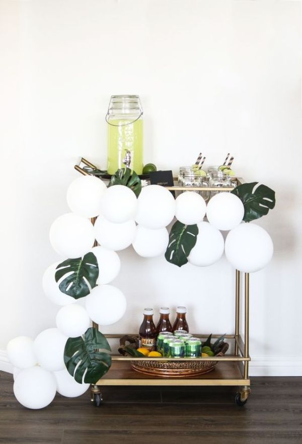 simple bar cart styling ideas