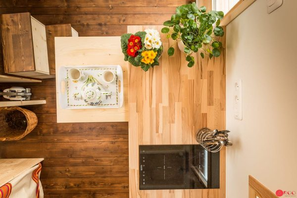 TINY HOUSE DINNING SPACE