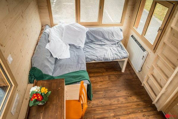 TINY HOUSE SOFA BED