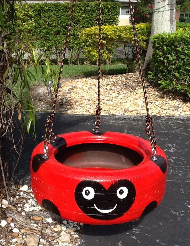 ladybug-tire-swing