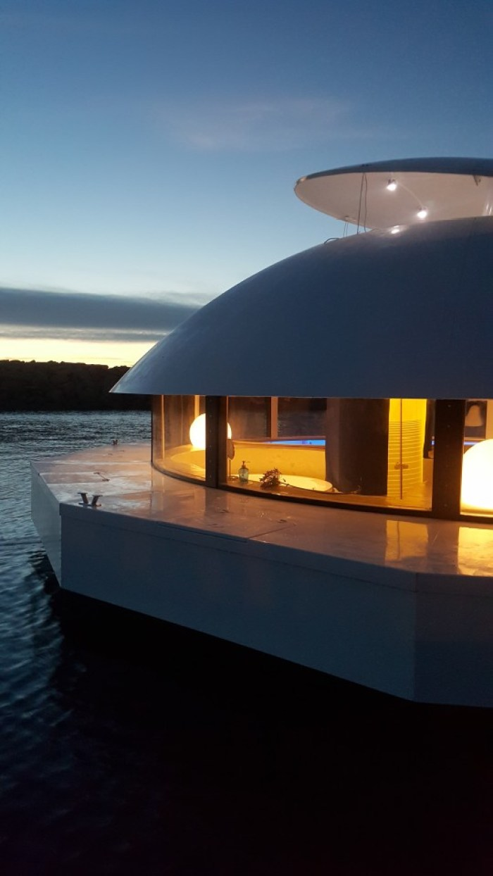 off grid floating home