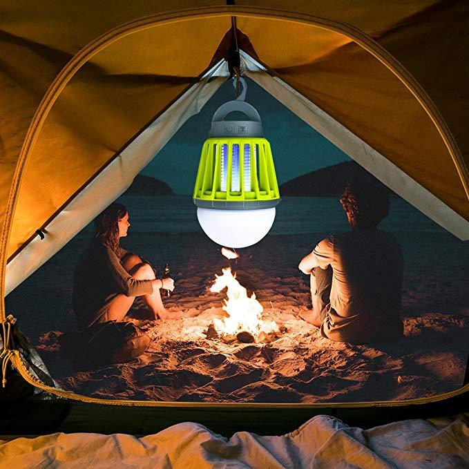 solar lamps camping