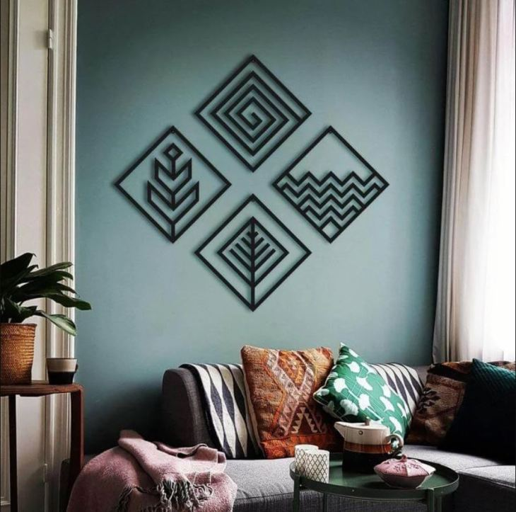 4 Elements Wall Decoration