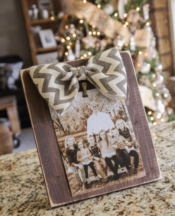 Picture Frame with Bow