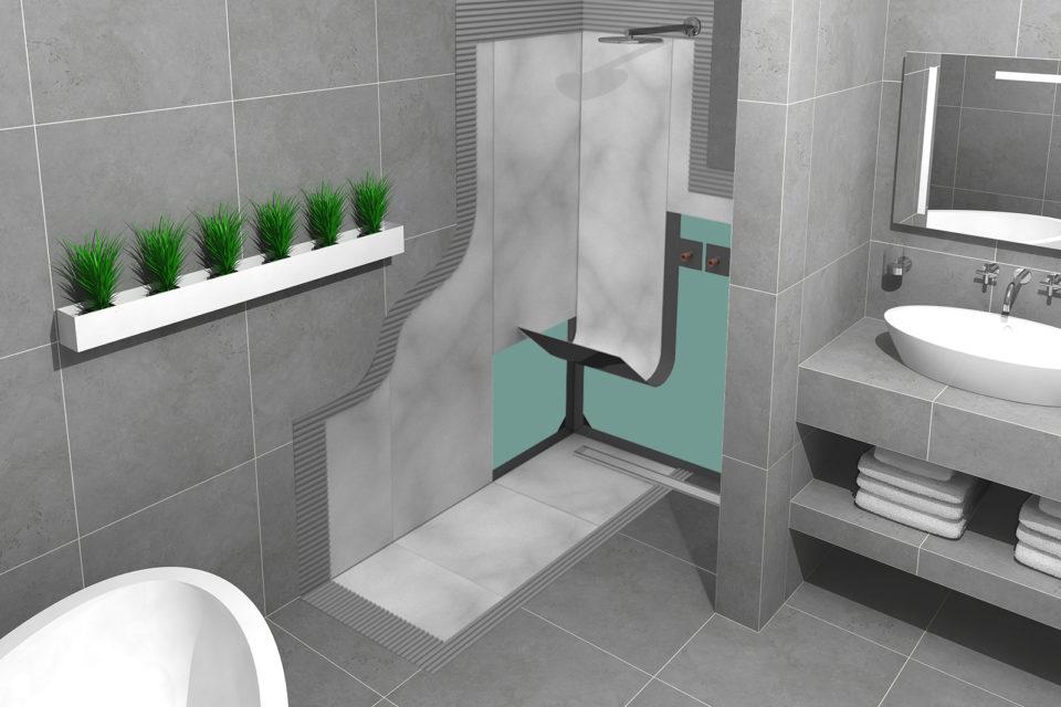 how to waterproofing your bathroom in