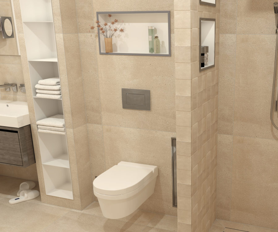 niche encastrable salle de bain