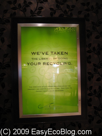 Mandalay Bay, Las Vegas, Recycling