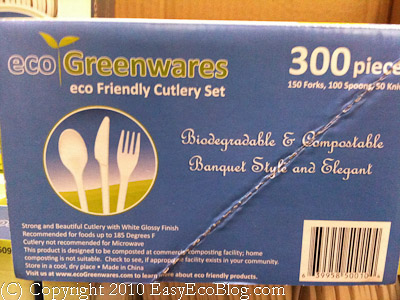 eco Greenwares eco friendly Cutlery Set