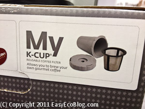 Green Keurig Single Serve Coffee Filter