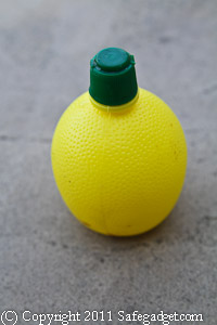 Lemon Juice Plastic Lemon