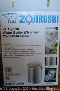 Zojirushi VE Hybrid Water Boiler Warmer