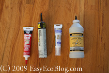 caulk, window sealers, weather stripping