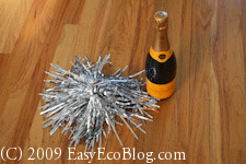happy new year, champagne bottle