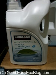 Kirkland Signature eco friendly cleaners- Kirkland laundry detergent