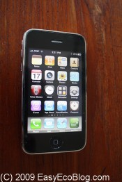 iPhone 3GS smart phone