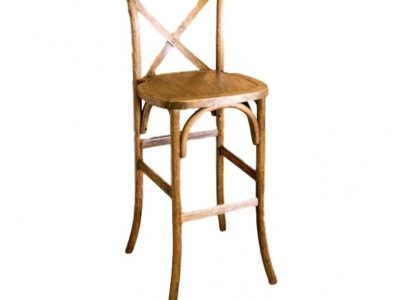 Cross Back Barstool Chairs