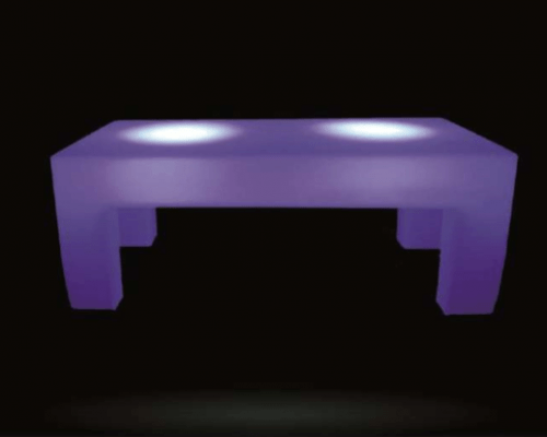 Small Led Rectangular Table