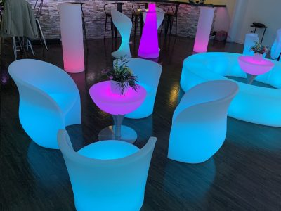 Led Oyster Chairs