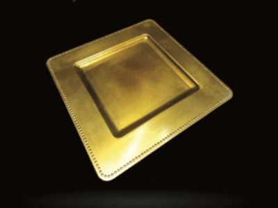 Square Charger Plate
