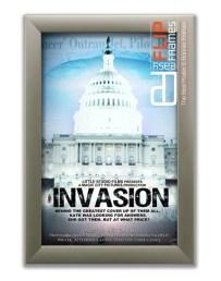 Flip up Poster Frame - Invasion 2013