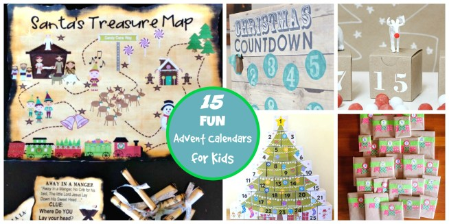 15 Fun DIY Advent Calendars for Kids