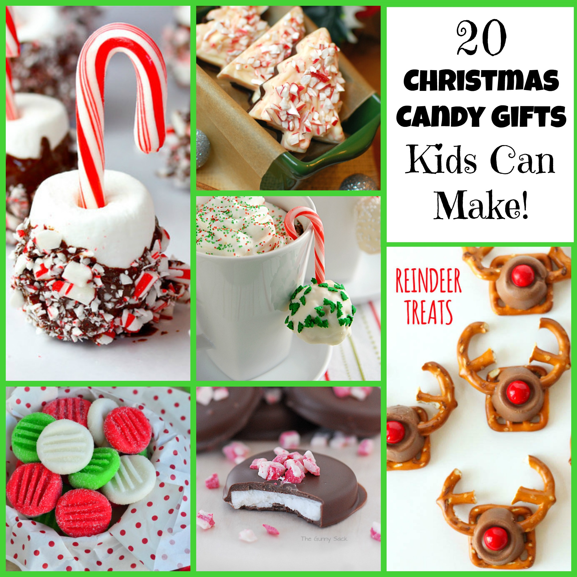20 Christmas Candy Gifts Kids Can Make