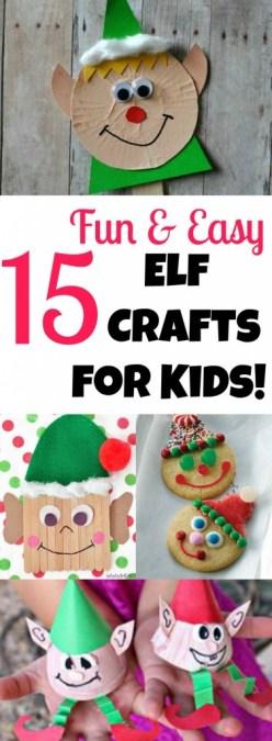 15 Fun Elf Crafts for Kids to Make!
