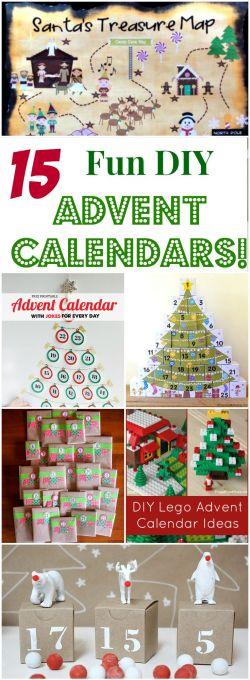 15 Fun DIY Christmas Countdowns