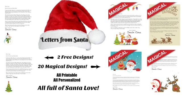 free letter from santa free letters from santa we forgot to tell you letters 1249
