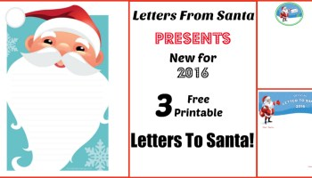 letters from santa presents our new santa letters