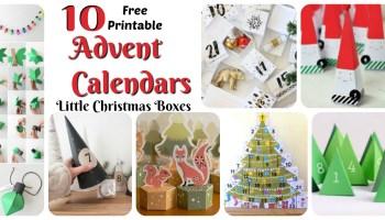 the printable advent calendar little christmas boxes