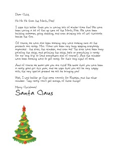 Free letters from santawe forgot to tell you letters from free letters from santa or upgraded santa letter templates you choose spiritdancerdesigns Image collections