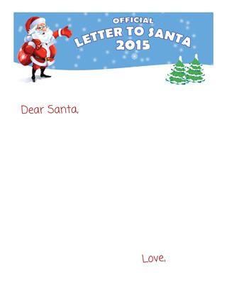 Letter to Santa Blank Version