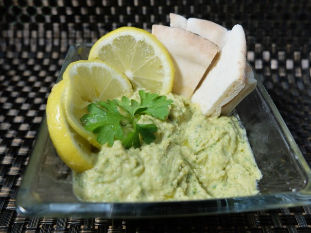 Chunky Parsley Hummus