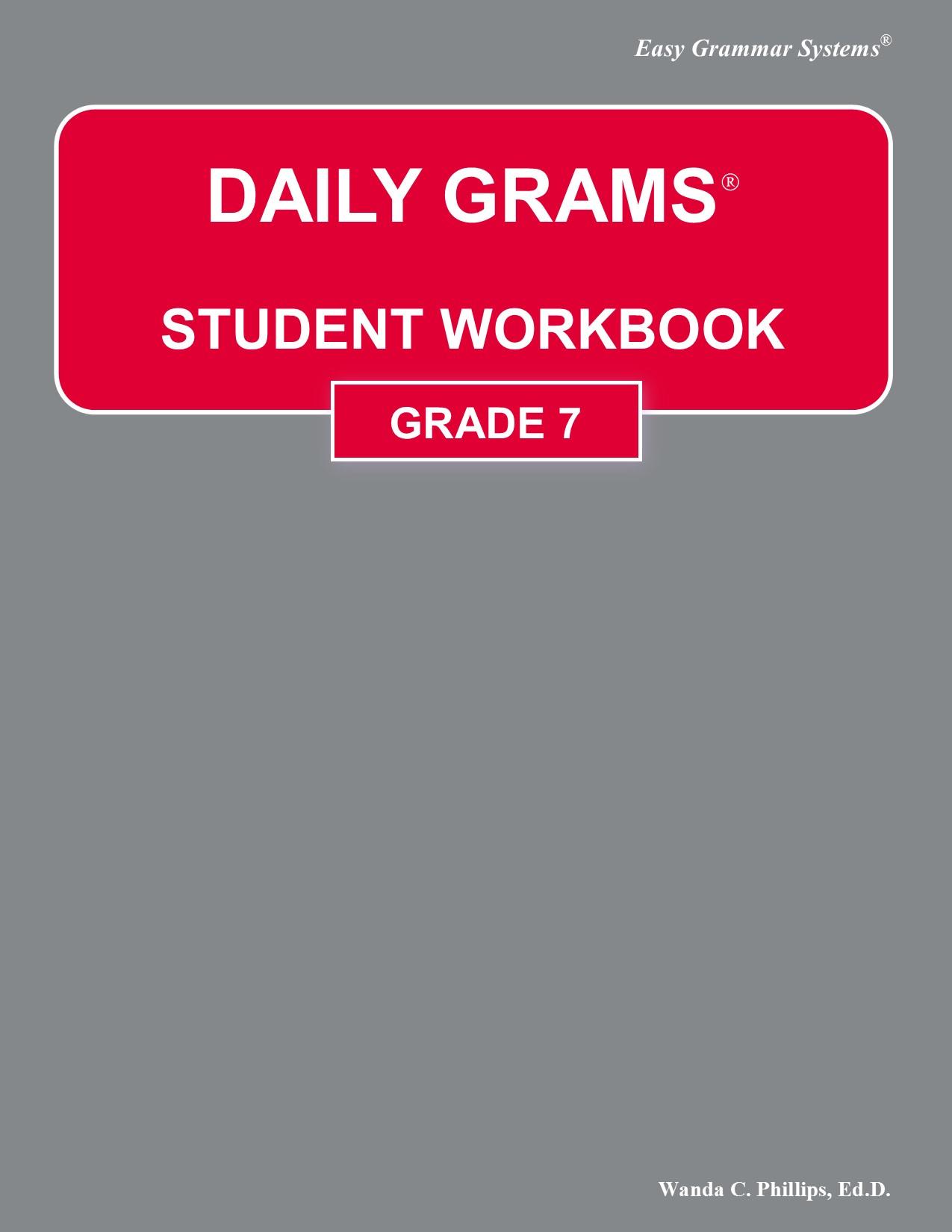 Grammar Practice Workbook Grade 7 Answer Key