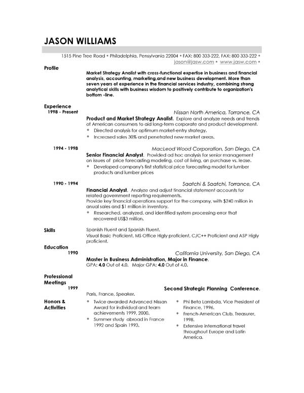charming north american resume sample images resume templates