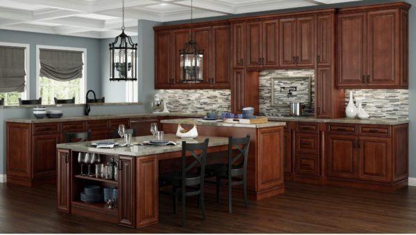 Charleston Saddel Kitchen Cabinets