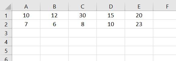 Data insert in Excel worksheet