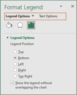 format legend dialog box